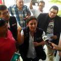 Iquitos: médicos protestan a la llegada de la ministra de Salud