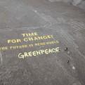 Líneas de Nasca: condenan a activista de Greenpeace por dañar geoglifo