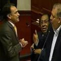 Becerril y Arana protagonizan acalorada discusión en el Congreso sobre Venezuela