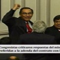 Martín Vizcarra: culminó interpelación al ministro de Transportes