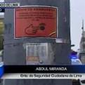 Cercado de Lima: botón de emergencia ayudó a socorrer a policía herido