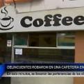 Lince: sujetos armados asaltaron a clientes de cafetería