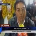 Chinchero: alcalde exige al gobierno denunciar a funcionarios responsables
