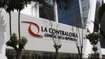 Contraloría rechaza amenazas contra Edgar Alarcón y no cederá a presiones - Noticias de contraloria