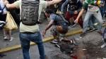 Venezuela: prendieron fuego a joven durante protesta en Caracas - Noticias de donald trump