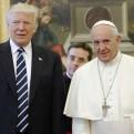 """Papa Francisco pide a Trump que trabaje por """"la paz en el mundo"""