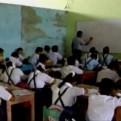 Chiclayo: 250 escolares estudian en casas alquiladas y hasta en un mercado