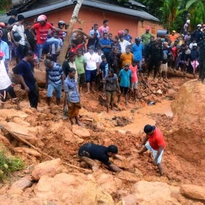 Sri Lanka: inundaciones y avalanchas causan 91 muertos
