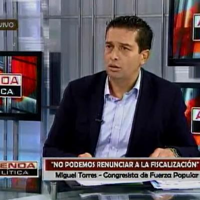 Torres afirma que miembros de bancada de PPK no tienen apertura de diálogo