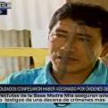 Madre Mía: dos exsoldados reconocen a Humala como el 'capitán Carlos'