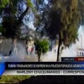 Chiclayo: 8 detenidos por protesta de trabajadores en Tumán