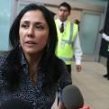 Nadine Heredia: Señora Keiko su padre fue condenado por usurpar funciones