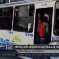 Cusco: universitarios retienen vehículos de transporte público por alza de pasaje