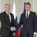 Macron y Putin tuvieron un