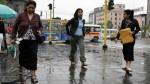 Senamhi: se registrarán lloviznas en Lima durante el fin de semana - Noticias de barranco