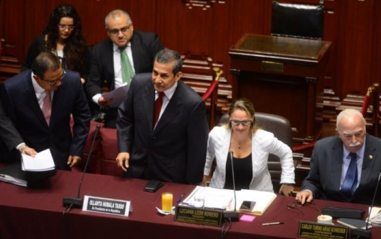 Comisión de Defensa encontró responsabilidad de Ollanta Humala en tres casos irregulares