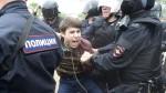 Rusia: más de 200 detenidos durante manifestaciones anticorrupción - Noticias de feriados