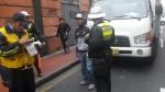 Lima: al menos 300 papeletas fueron impuestas este lunes en el Centro Histórico - Noticias de hern��n dar��o g��mez