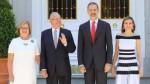 PPK cerró su visita a España almorzando con los Reyes Felipe VI y Letizia - Noticias de felipe reyes