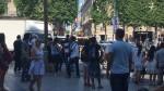 Francia: vehículo embiste automóvil policial en Campos Elíseos de París - Noticias de campos elíseos