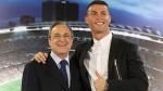 Florentino Pérez defendió a Cristiano Ronaldo y aseguró que no dejará Madrid - Noticias de real madrid