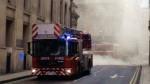 Londres: otro incendio en el centro de la capital británica - Noticias de soho
