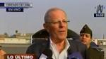 PPK: Este viernes a las 11 será la juramentación del nuevo ministro de Economía - Noticias de alfredo thorne