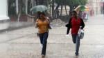 Senamhi: lluvias moderadas afectarán a once regiones del país esta noche - Noticias de madre de dios