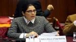 Úrsula Letona: Si Fujimori fuese indultado no debería incursionar en política - Noticias de pablo lavado