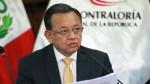 Contraloría General: La relación laboral con Edgar Alarcón ha concluido - Noticias de edgar alarcón