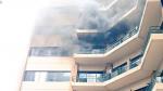 El Salvador: al menos dos muertos por incendio en Ministerio de Hacienda - Noticias de rescate