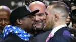 Mayweather vs. McGregor: se realizó el primer careo en Los Ángeles - Noticias de floyd mayweather