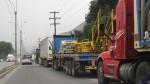 Carretera Central: a partir del jueves 27 restringirán el ingreso de camiones - Noticias de carretera central