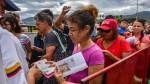 Unos 25 mil venezolanos cruzan a diario la frontera con Colombia - Noticias de colombia