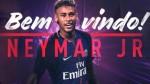 Neymar: PSG confirmó su fichaje hasta el 2022 - Noticias de samba