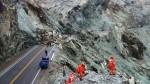 Arequipa: abren el tránsito vehicular en el kilómetro 731 de la Panamericana Sur - Noticias de sismo