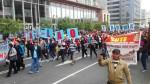 Huelga de profesores: PNP restableció tránsito en Av. Abancay tras retiro de docentes - Noticias de lima norte