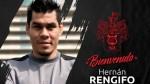 Hernán Rengifo fue presentado como el nuevo delantero de Melgar - Noticias de hernan rengifo