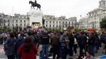 Huelga de profesores: esta fue la duración de últimas manifestaciones - Noticias de conare- sutep