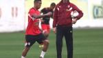 Selección peruana: Gareca volvió a probar el once con Peña de titular - Noticias de carlos tapia