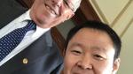 Kenji Fujimori publica fotos junto a PPK en su visita a Palacio - Noticias de twitter