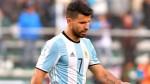 Perú vs. Argentina: Sergio Agüero se accidentó y es baja en la 'Albiceleste' - Noticias de seleccion argentina
