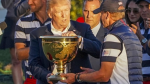 Trump dedica un trofeo de golf a las víctimas de los huracanes - Noticias de donald trump